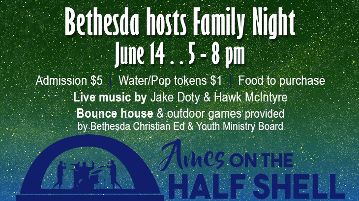 Ames on the Half Shell - Bethesda Family Night