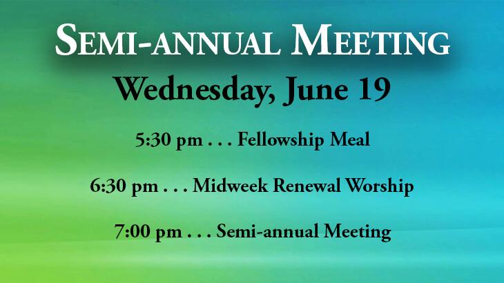 Semi Annual Meeting