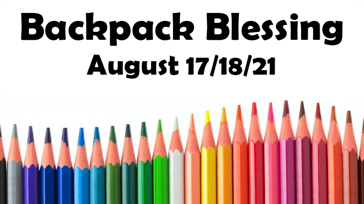 Worship - Backpack Blessing