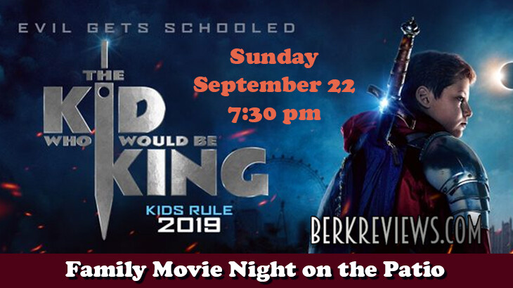 """Family Movie Night - """"The Kid That Would Be King"""""""