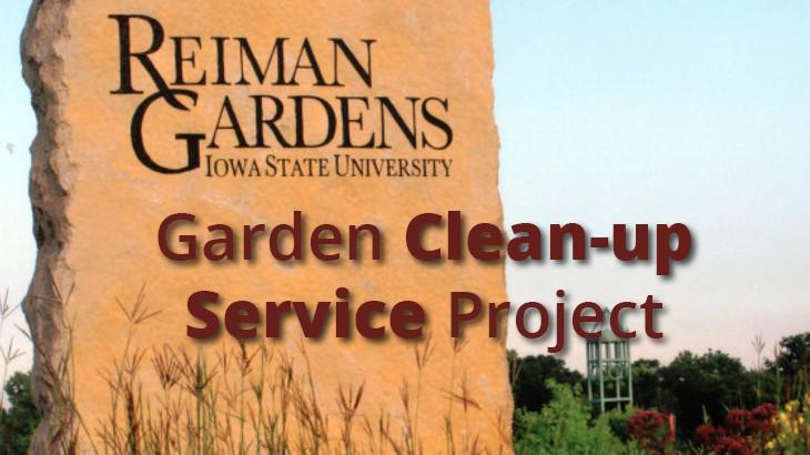 Reiman Gardens Service Project