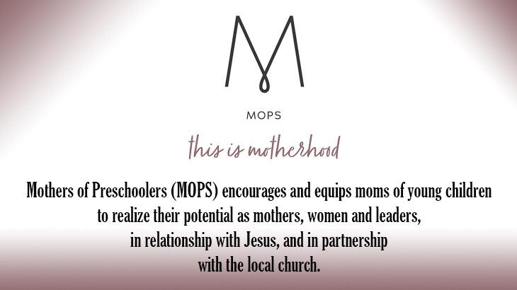 MOPS - Zoom meeting