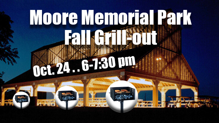 Moore Memorial Park Fall Grill-Out